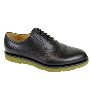 Gucci Oxford Black Leather Dress Shoes